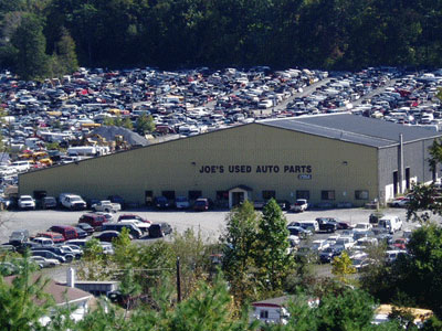 Joe's Used Auto Parts in New Ringgold, PA